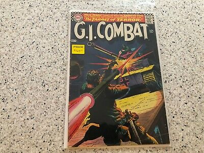 G.I.Combat #123 Silver Age DC War Mlle. Marie & The Haunted Tank