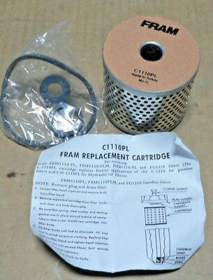 fram fuel filter c1110pl agco 4047098 cummins 256834 ff0010800 ff108