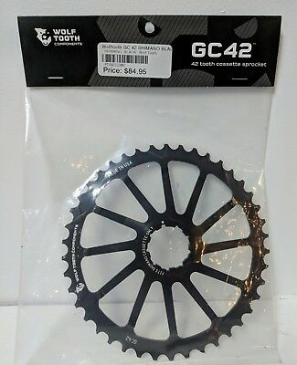 Bicycle Components & Parts Wolf Tooth Components 42t Gc Cog-for Shimano 11-36 10-speed Cassettes-silver-new Moderate Cost