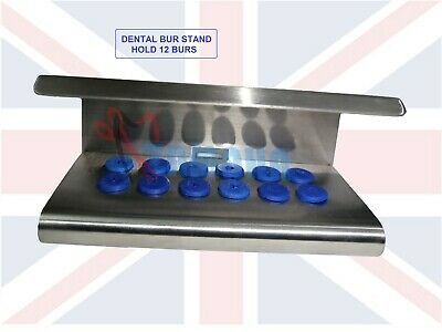 Dental Burs Stand, Hold 24 pcs of Dental Burs Holers, High Quality Burs Stand CE