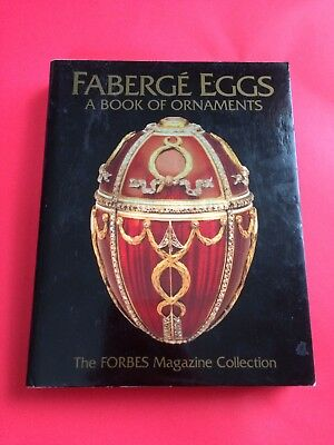Faberge Egg Book Of Ornaments Hardback Unused Estate Treasure