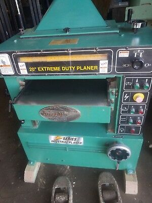 "G9967 20"" 5 HP Extreme duty Planer single phase 220 volts Will ship"