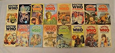 Doctor Who Target 16 Novels Books Bundle Collection Job Lot 1 of 4 Dr