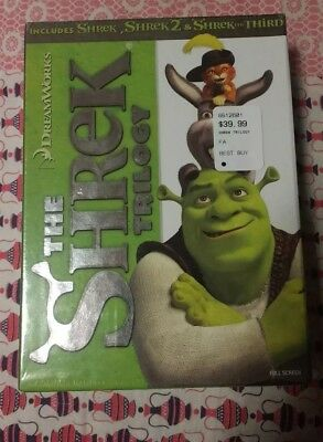 The Shrek Trilogy [Shrek / Shrek 2 / Shrek the Third] [Full Screen Edition]