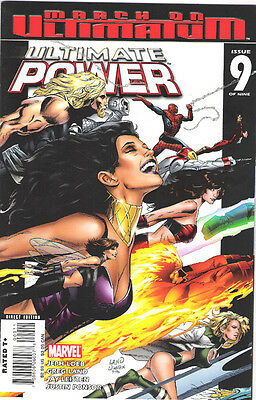 Ultimate Power #9 Comic X-Men Spider-Man Wolverine Thor Ultimates Greg Land