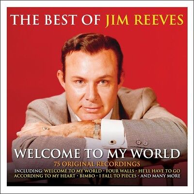 Jim Reeves - Welcome To My World - The Best Of - Greatest Hits 3CD NEW/SEALED