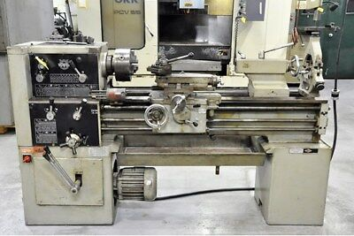 "17"" Swg 40"" cc Voest 17"" ENGINE LATHE, Inch/Metric, 3-Jaw, Steady,. Aloris,  5 H"