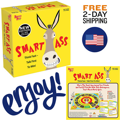 Smart Ass Card Game In Tin Stand Alone Game Booster Pack To The