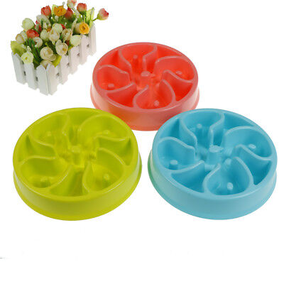 Slow Feed Dog Bowl Anti Choking Pet Food Bowl To Prevent Obesity Dog Feeder E Dt