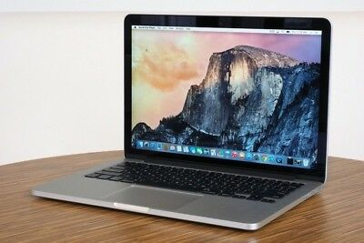 "Apple MacBook Pro A1502 Core I5 2.7 13"" Early 2015"