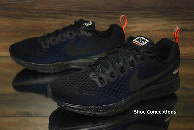 7a73f0177d7 Nike Air Zoom Pegasus 34 Shield Running Shoes Black 907327-001 Men s Multi  Size