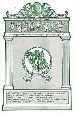 """Jerome Kern """"CAT AND THE FIDDLE"""" Bettina Hall 1932 Baltimore, Maryland Playbill"""