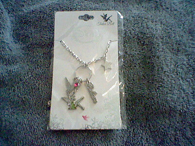 Brand New Girl's Disney ( Tinkerbell) Charm Necklace