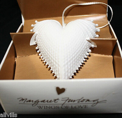 """Margaret Furlong 2.5"""" Wings Of Love Porcelain Ornament Single Boxed Issued 1995"""