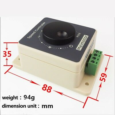 DC Motor 10-60V 20A Pulse Width Modulator PWM Speed Controller Shell Motor UK**