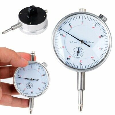 Dial Gauge Indicator Precision Metric Accuracy Measurement Instrument 0.01mm USA