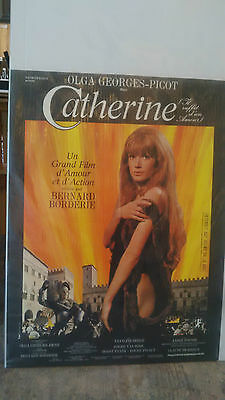 "Olga Georges-Picot, ""Catherine"", 1969 Bernard Borderie France movie poster"