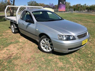 2005 Ford Falcon BA MkII XL Silver Automatic 4sp A Cab Chassis