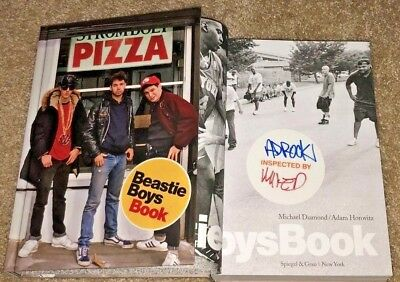 Mike D Ad Rock Signed The Beastie Boys Hardcover Book Licensed To Ill *Rare*