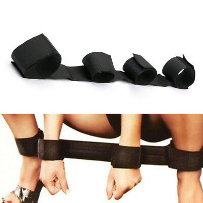 Adults Fantasy Sex Fetish Restraint Bondage Leg Handcuff Spreader SM Game Strap