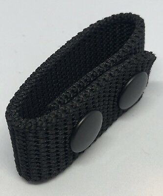 Belt Keeper, 3mm Thick, Duty Belt, Police / Security, Black, 1 x Keeper Only