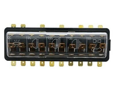 Fuse Box with Cover - 10 Fuse JP Group Dansk 8199300400 / 111 937 505 F