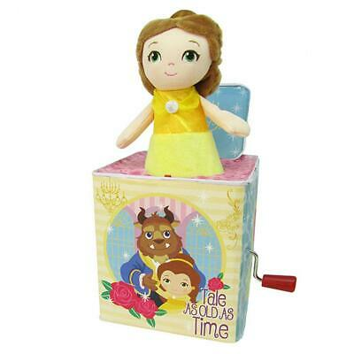 Disney Princesses Belle Jack In The Box Free Shipping!