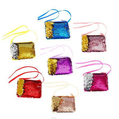 Baby Sequins Coin Purse Change Wallet Kids Pouch Glittering Clutch Bags Satchel