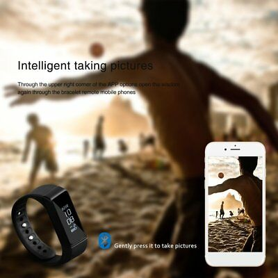 LESHP Waterproof Bracelet Bluetooth 4.0 Wireless Wristband Tracker for I5 Plus A