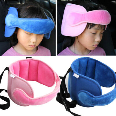 1XBaby Kids Head Neck Support Car Seat Belt Safety Headrest Pillow Pad Protector
