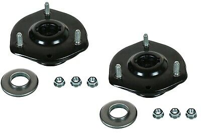 Front Upper Strut Mount w//Bearing /& Spring Seat Pair Set for 00-06 BMW X5