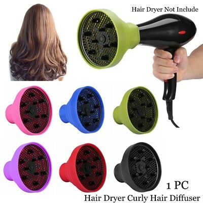 Travel Folding Silicone Hair Diffuser Dryer Cover Blower Hood Curly Hairdressing