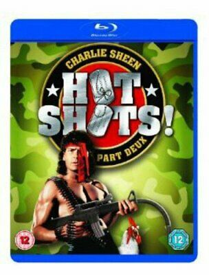 Hot Shots!: Part Deux [1993] [Region Free] (Blu-ray) Charlie Sheen, Lloyd Bridge