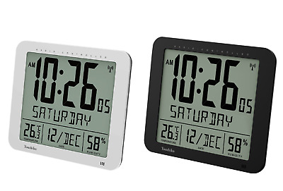 Large Digits 3.27 inches Time Radio Controlled Wall Clock (UK & Ireland Version)