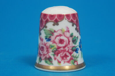 Royal Worcester Historical Patterns No.1 China Thimble B/23