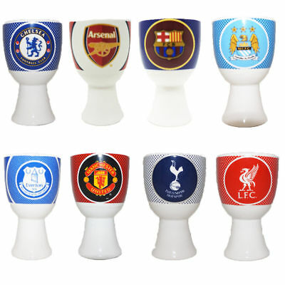 Egg Cups Latest Bullseye Design Official Football Team Gift For Christmas