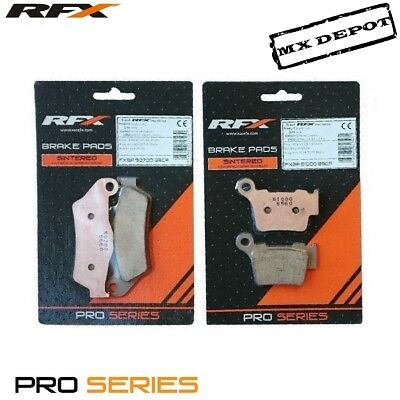 Rfx Front & Rear Brake Pads Set For Ktm Sxf250 Sxf350 2011 - 2018 :507-510