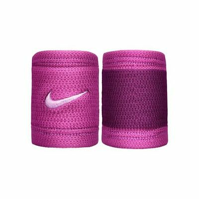 Nike Dri-Fit Stealth Single Width Wristbands - Bold Berry/Purple - Free P&P