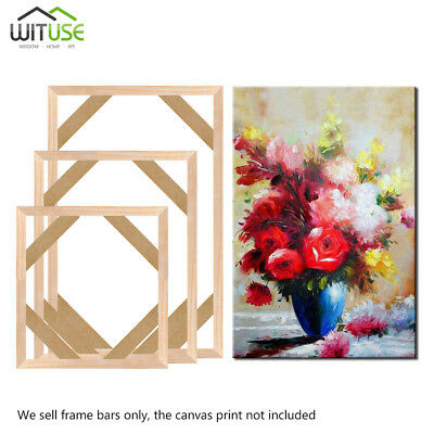 Photo Picture Frame Wall Wood Strips Premium Home Decor For Canvas Art Painting