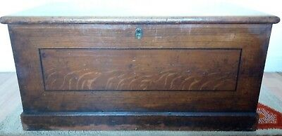 Victorian Pine Chest/trunk, Coffee Table-Storage, Collection Margate, Kent