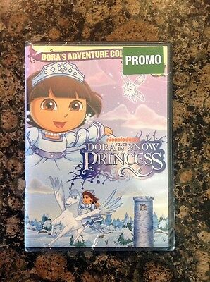Dora the Explorer- Dora Saves the Snow Princess (DVD, 2008)NEW Authentic US