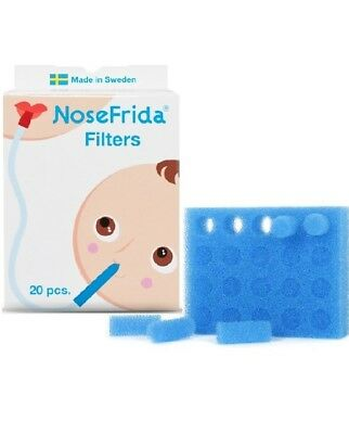 NoseFrida Replacement Aspirator Filters - Pack of 20