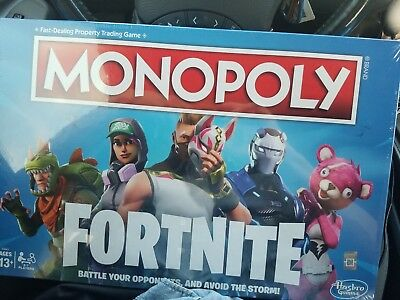 Monopoly Fortnite Board Game Limited Edition Fast Post Xmas