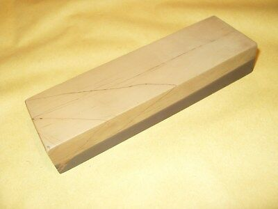 """Vintage Belgium Coticule Sharpening Stone 4 5/8"""" x 1 3/8"""" x 3/4"""" - As Photo's"""