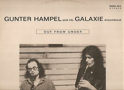 ORIGINAL 1st PRESS (1974 !) - GUNTER HAMPEL & GALAXIE DREAMBAND  - Espace