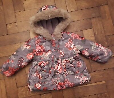 3c5ade66b MONSOON BABY GIRLS coat age 6-12 months - £11.77