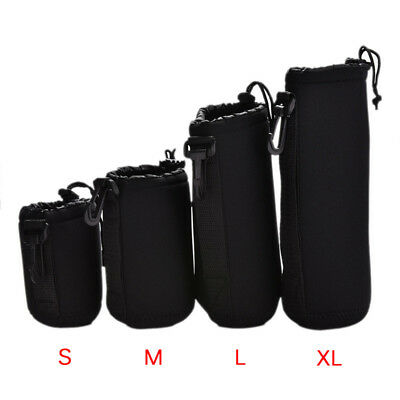 Neoprene Waterproof Soft Camera Lens Pouch Storage Bag Case Size- S M L XL UUMW