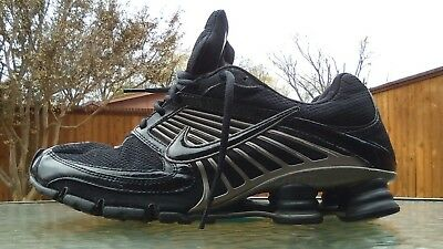 separation shoes 23724 d7946 MENS 10.5US NIKE Shox~Turbo 8. Black. Silver Accents. Breathable Synthetic  Upper