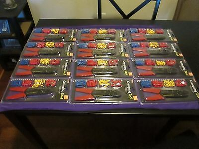 Crimping Tool With 60 Terminals - Wholesale Lot Of 12 Sets Nib