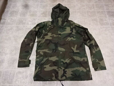Good Cond Not Much Used Vintage U.s Army Gore Tex Jacket Military Large/l Camou
